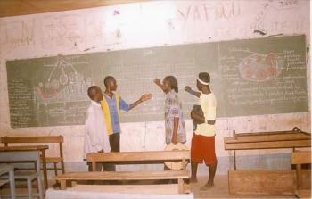 High school students in Garango.